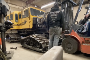 Off The Beaten Path: LS-Swapping A 1980s Snowcat