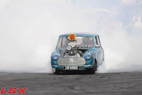 Throwback Thursday: LS Fest West And Dario Gaiga's Tire Killing Mini