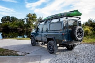 Check Out This Drool-Worthy 6.2L L92 Swapped Land Rover Defender 110