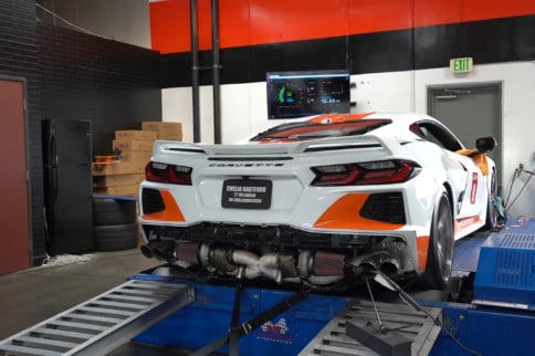 Twin-Turbo C8 Corvette Pumps Record-Breaking 1,000 Horsepower