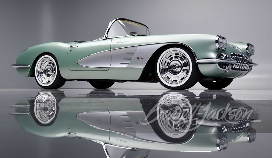 Restomod 1959 Corvette Sells For $825,000