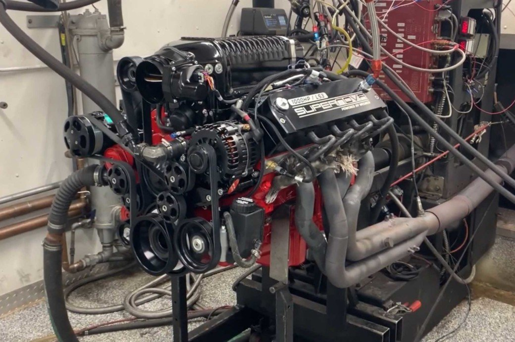Watch This Whipple Supercharged LS3 Belt Out 1,000 Horsepower